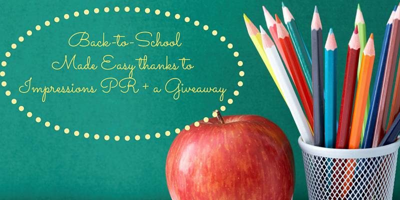 Back-to-School Made Easy With Impressions PR