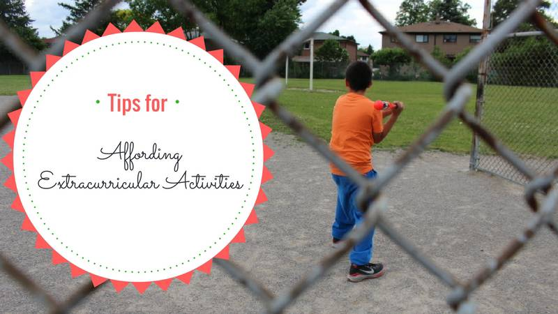 affording extracurricular activities